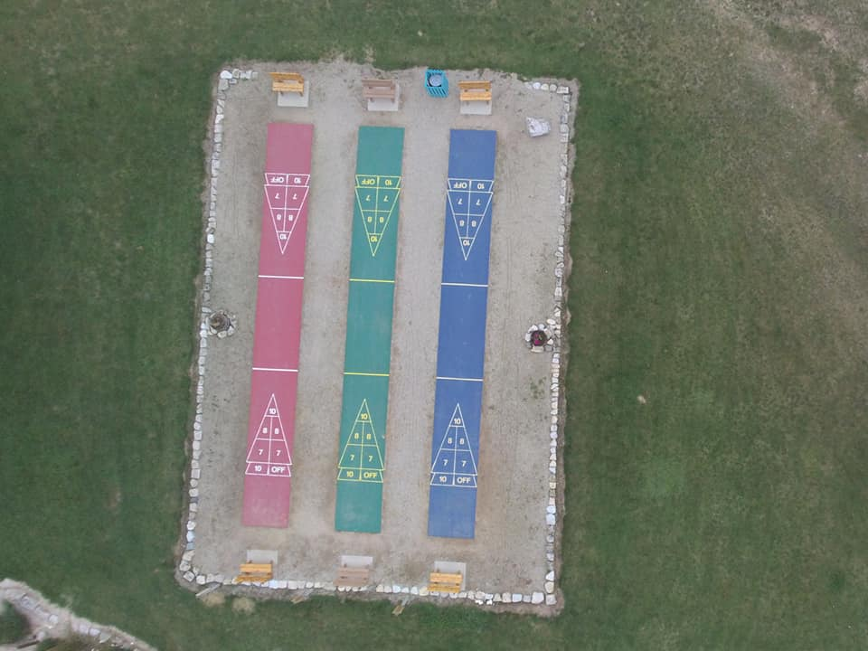 Aerial of Shuffleboards 2019