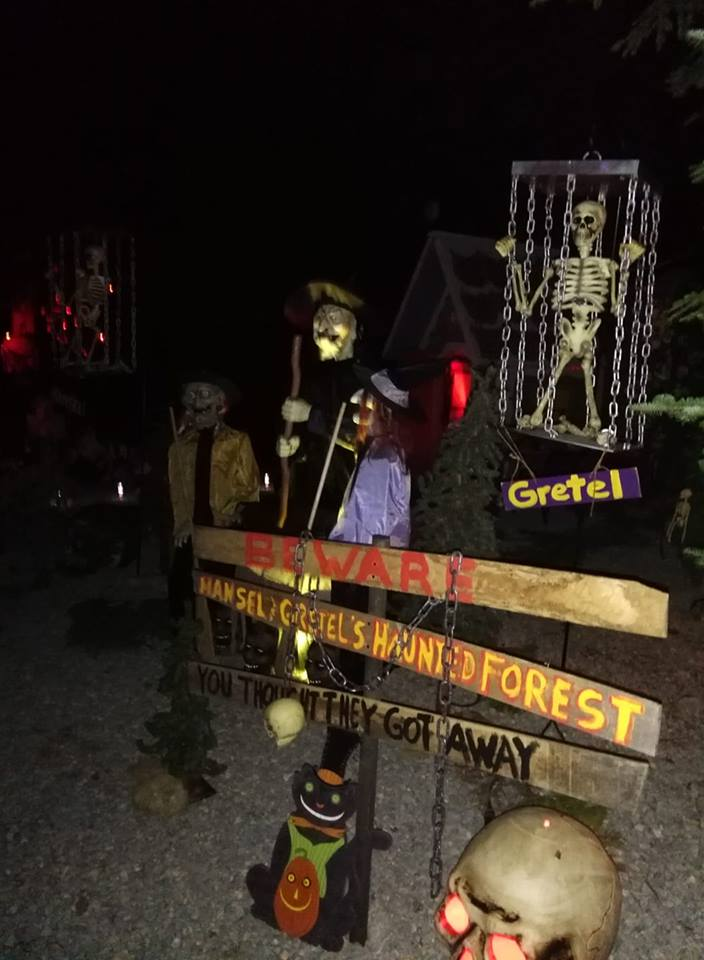Decorated Site for Halloween 2018