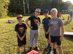 Kids enjoying the tournament 2019