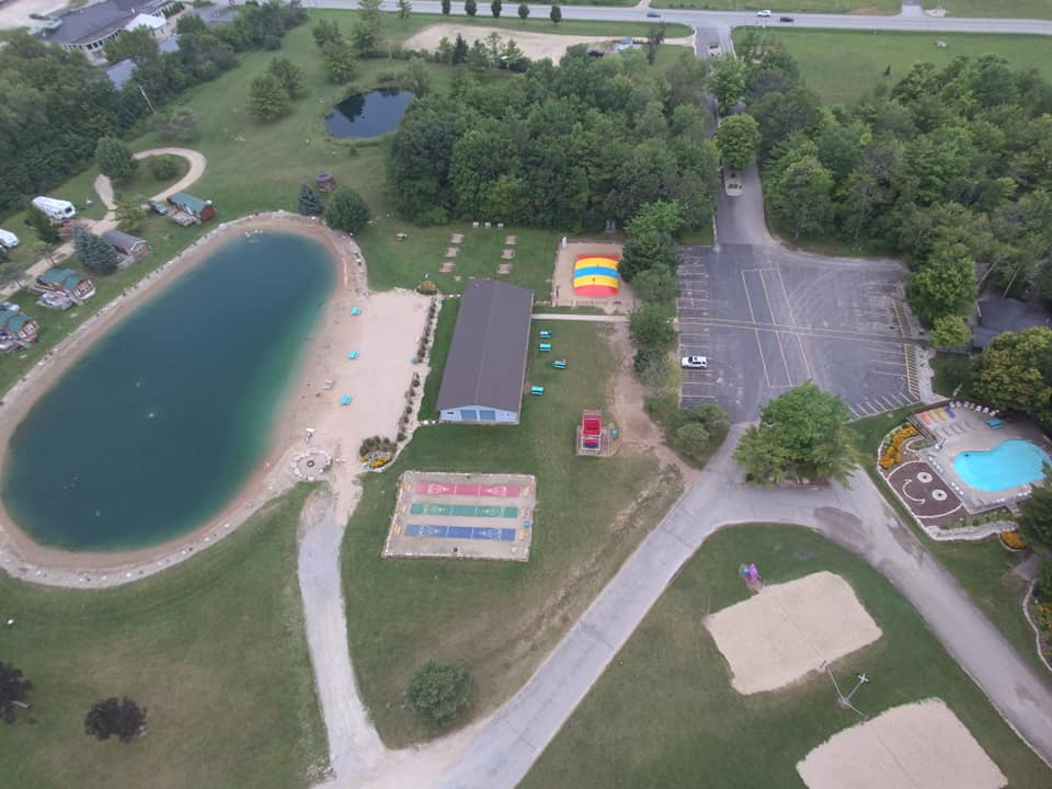 Aerial of Oasis/Pavilion 2019