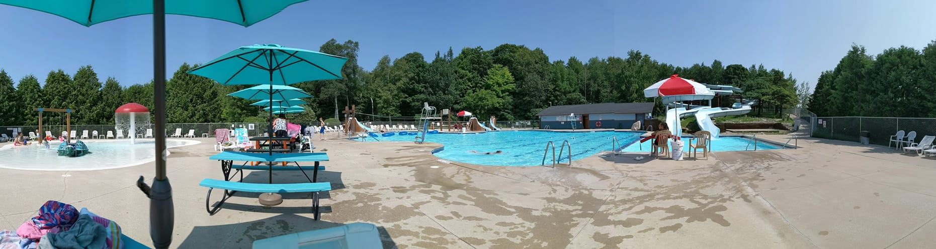 Panorama of Activity Pool 2019