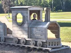 Train at playground 2019