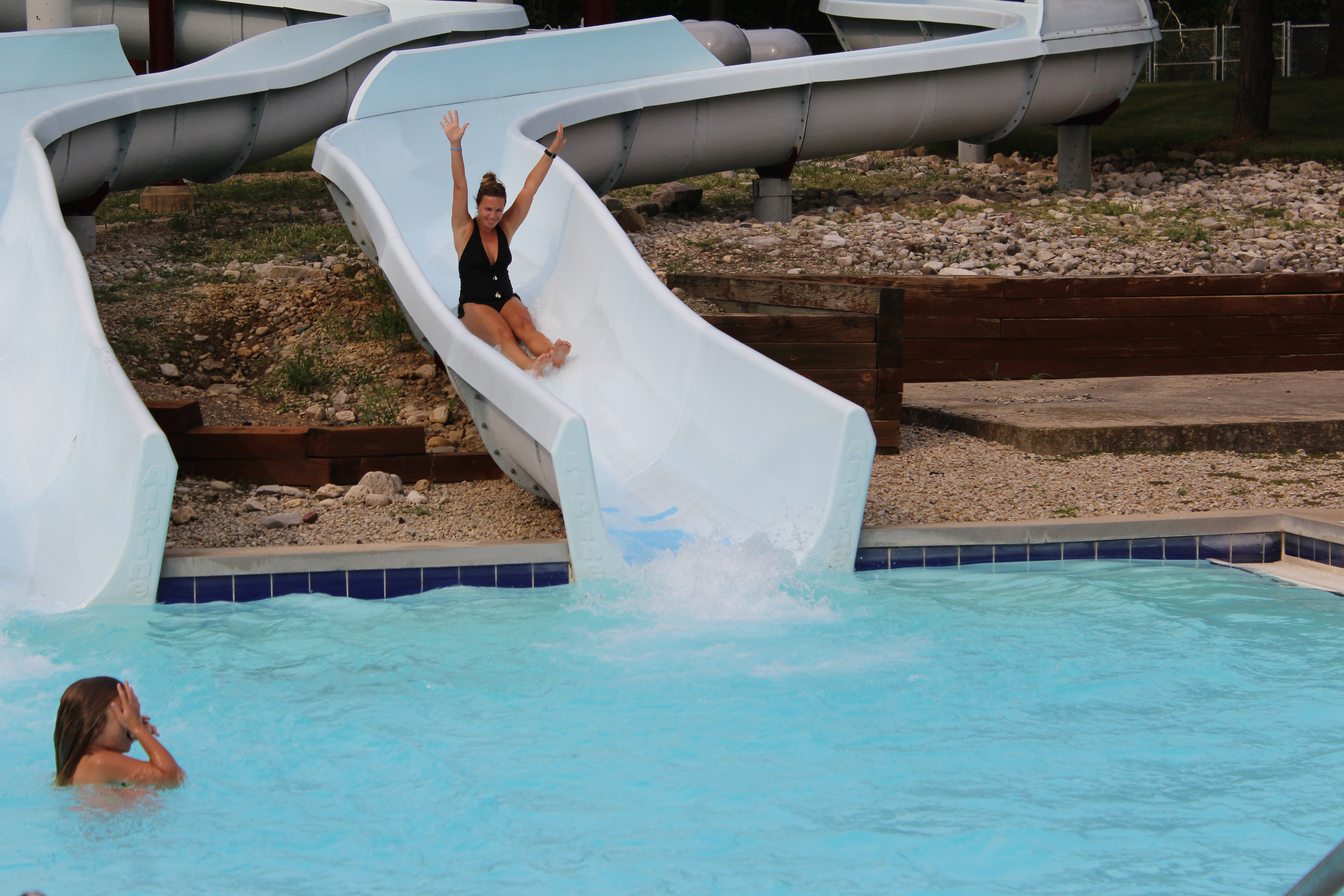 Activity Pool Water slides