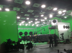 Film Set Space Force