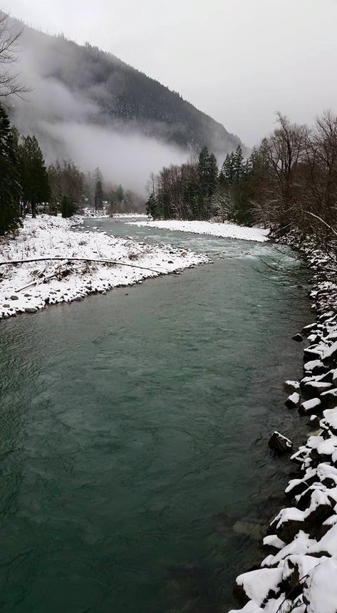 The Skykomish River.
