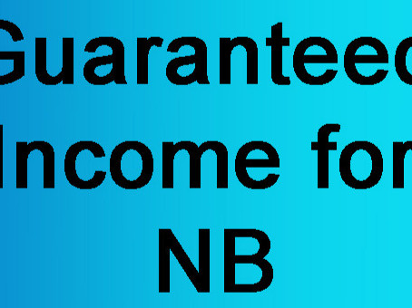 Fight for Guaranteed Income in NB!