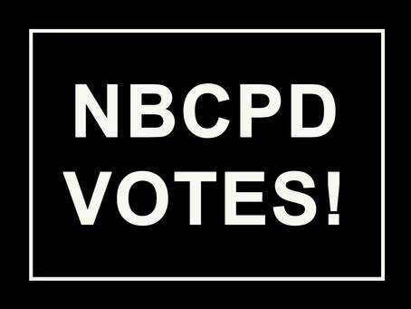 NBCPD Members Vote!