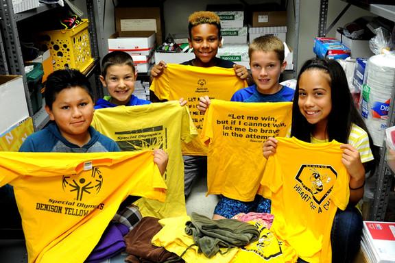 Generous Denison donors stock school supply closets