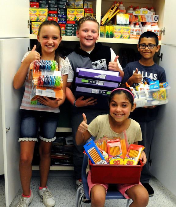 Denison's culture of giving benefits schools, community