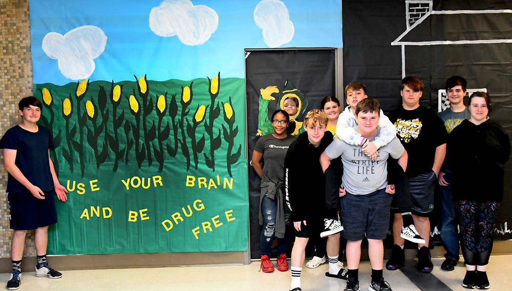 SMS students dare to be drug free