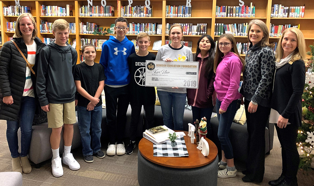 "Fall Grant award for ""Growing A Passion for Reading One Book at a Time."""