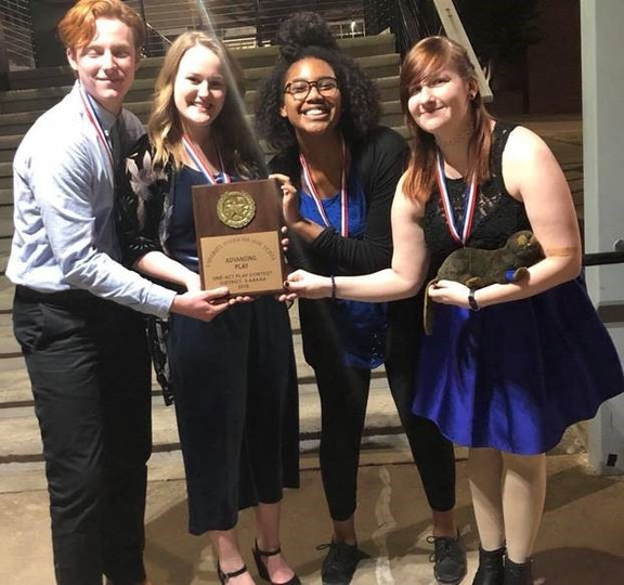 One Act Play Takes 1st Place at District!