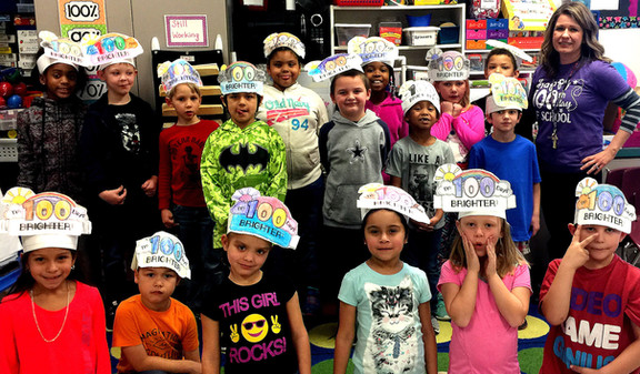 DISD students celebrate 100 days of successful learning