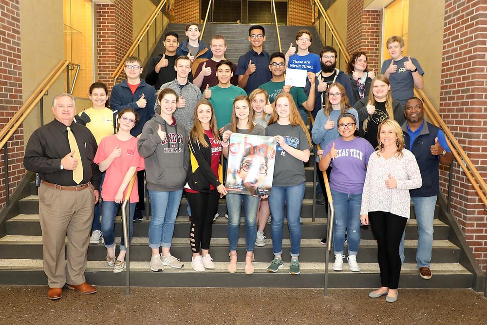 Denison High School Douglass Distributing Grant Check Presentation