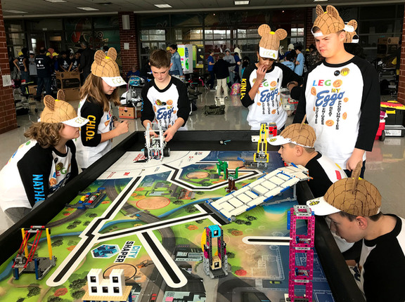 B. Mac's first LEGO Team earns trophy for teamwork skills