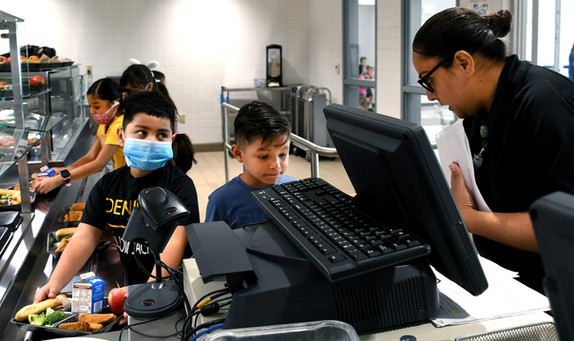 Excited DISD students return to classrooms