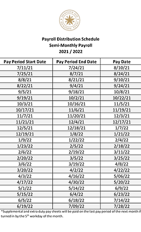 2021-2022 Payroll Distribution Schedule.png