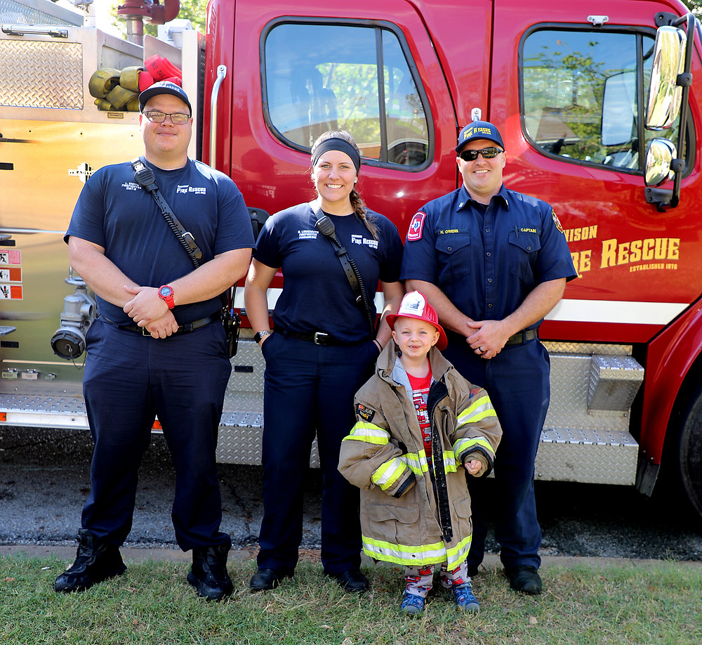Lucas with Denison Fire Rescue