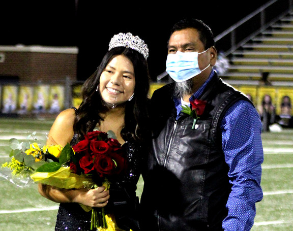 DHS homecoming queen: beautiful inside and out