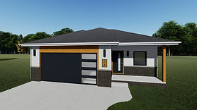 1409 Base Model Front Elevation 1 REV 10