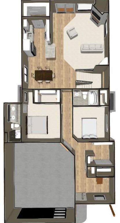 Viking Homes - 1490 Ranch - Main Floor D