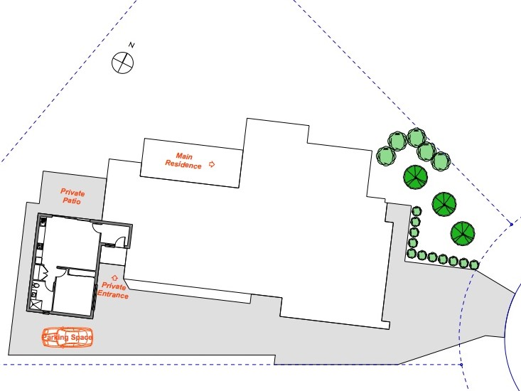 Site plan - dual occupancy
