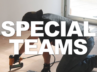 """There are several """"Special Teams""""comprised of people using their skills and specialized training to build the Kingdom, here at Bethel!"""