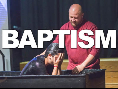 Baptism is going public with your relationship with Jesus! If you've recently decided to follow Jesus, baptism is your next step!