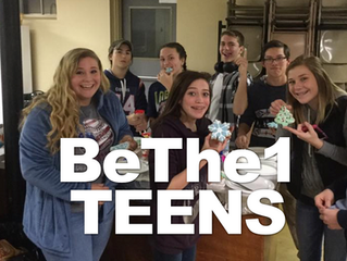 BeThe1 Teens Ministry works to connect with teens and point them to a relationship with the Real Jesus! We create Large Group events and Small Group environments for teens to meet Jesus at their level, every month!