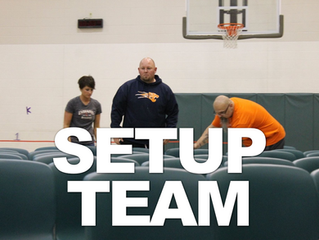 Our dedicated team sets up a portable church and tears it back down, every Sunday! We cannot do what we do at our Greencastle campus, without our setup team!