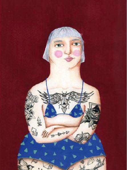 Irrimarra. Mujer tattoo
