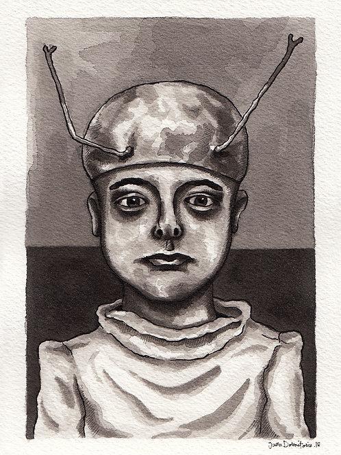 Juan Dormitorio. Alienígena