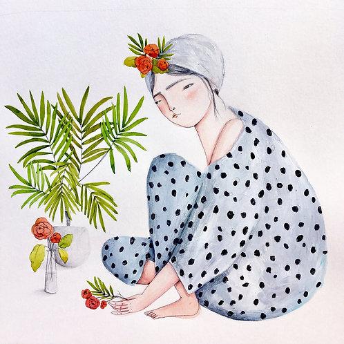 Eva Zurita. El jardín