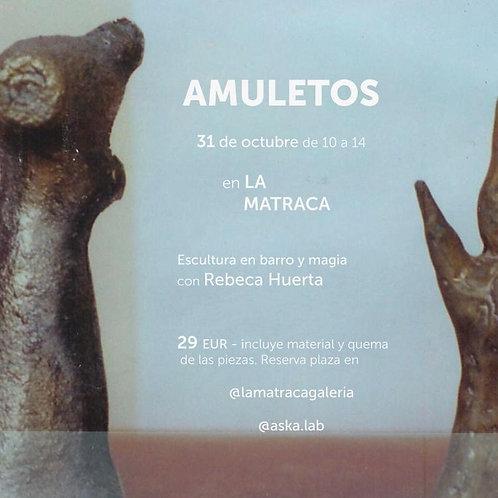 Taller amuleto con Rebeca Huerta