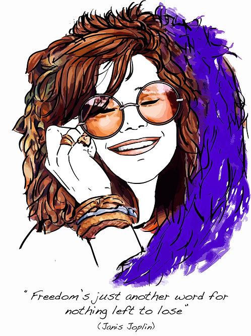El loco del pelo rizo. Janis Joplin