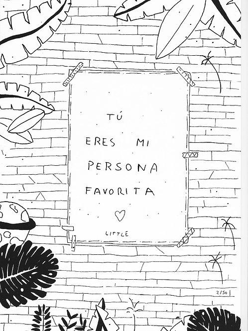 Little. Tú eres mi persona favorita