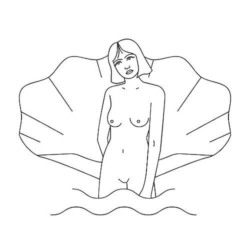 La mar salá. Camiseta Venus