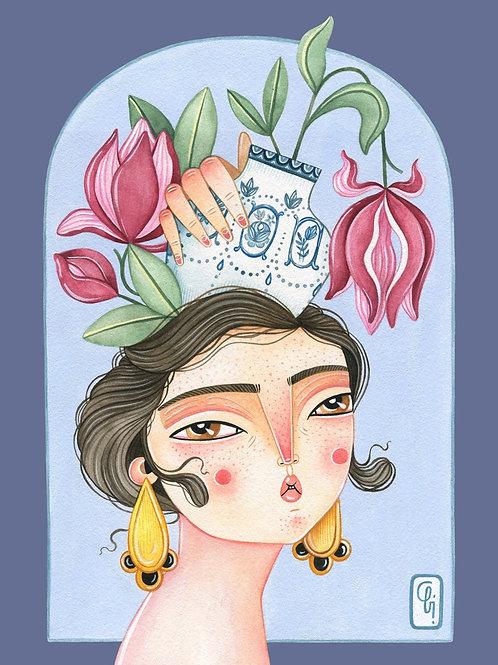 Abi Castillo. Magnolia
