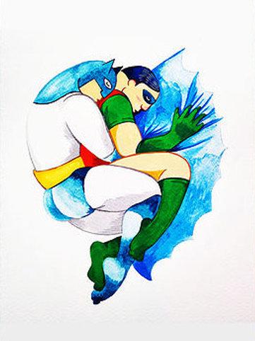 Mivo Art. Batman & Robin colour