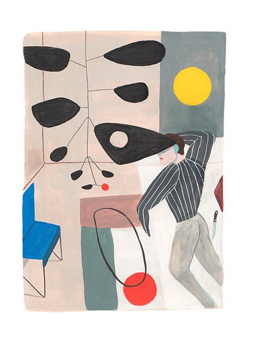 El Dibujo. Calder in love
