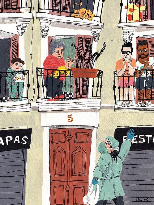 Ilu Ros. Lockdown in Madrid I