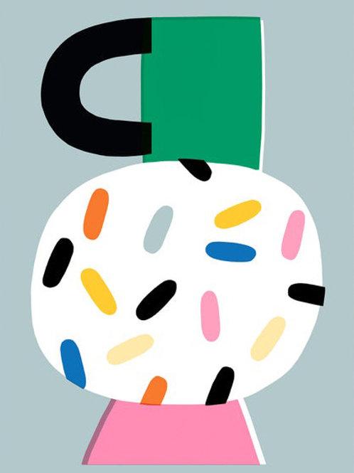 Susie Hammer. Flower vase no.1