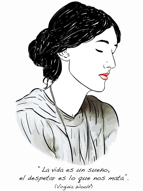 El loco del pelo rizo. Virginia Woolf