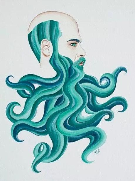 Guillermo Anguita. Rebel Beard
