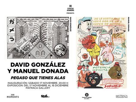 """""""PEGASO QUE TIENES ALAS"""". De David González y Manuel Donada"""