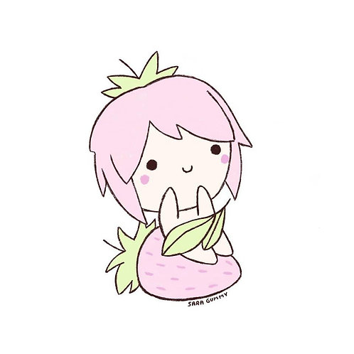 Sara Gummy. Strawberrie Lady