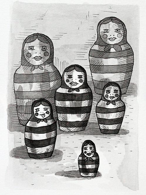 Juan Dormitorio. Mujercitas