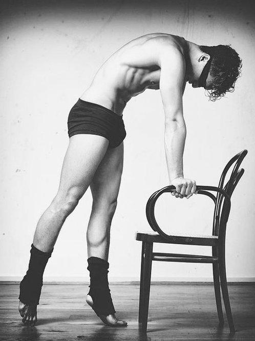 Manel Ortega. Blindfold dancer #2