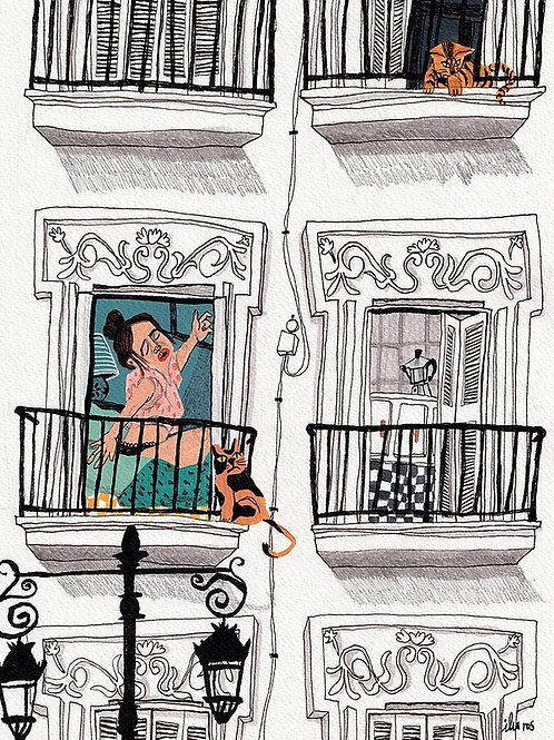 Ilu Ros. Lockdown in Madrid III