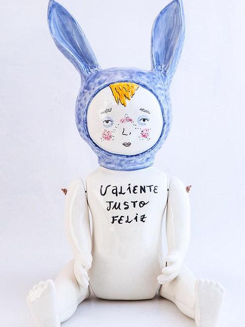Aitor Saraiba. Conejillo Azul